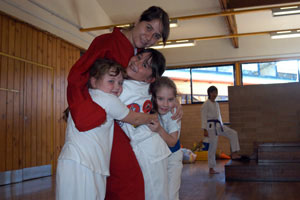 Sensei Sinem teacher of the kids martial arts classes