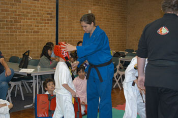 good sensei can help children's self confidence