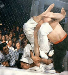 Royce Gracie in MMA competition