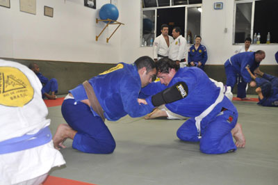 Just turning up is half the battle in Brazilian Jiu-Jitsu or any other martial art.