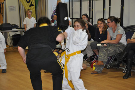 Keeping childrens' attention in martial arts classes