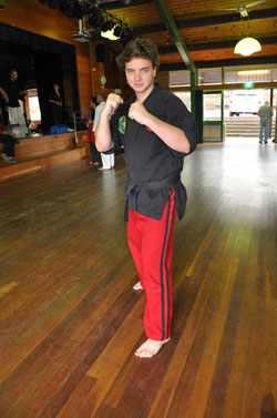 Kids Karate Mosman Sensei Grant Hogan